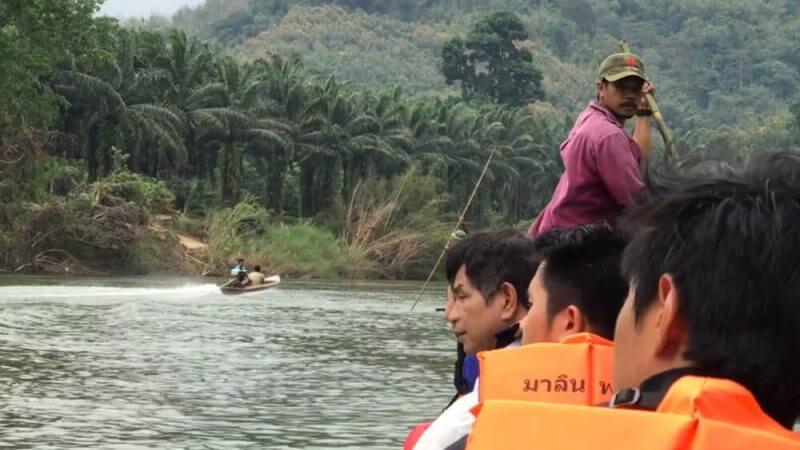 Phato river rafting in Chumphon