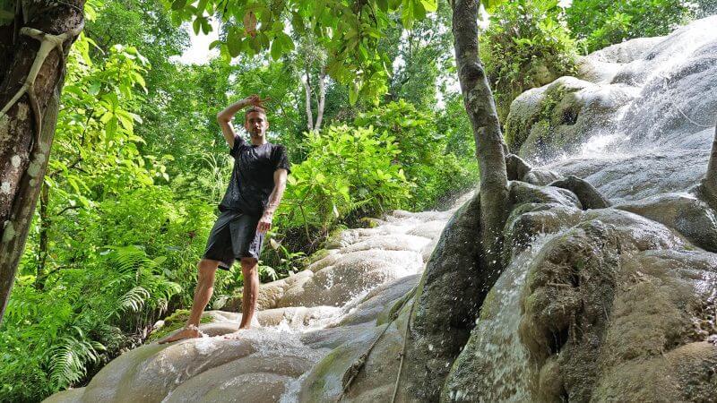Sticky Falls Chiang Mai