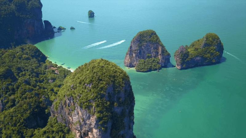 Tonsai and Railay Thailand