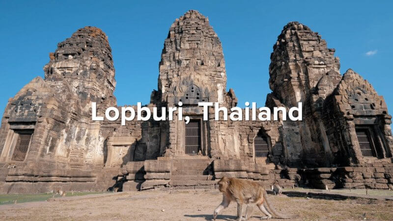 Lopburi and monkeys