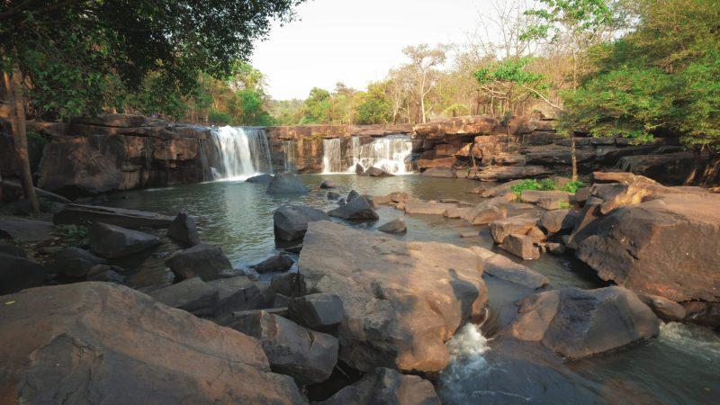 Tat Ton Waterfall Chaiyaphum