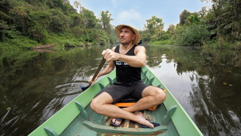 Rafting Thailand video